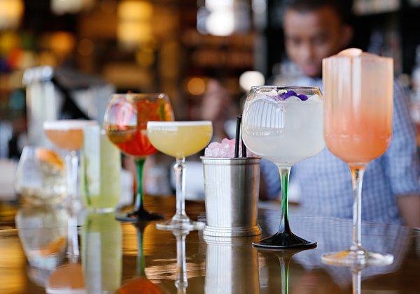 EB's range of cocktails