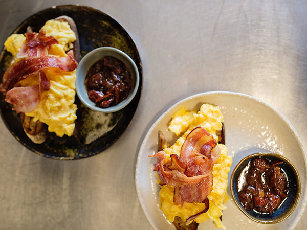 Two breakfast dishes from SCHOON.