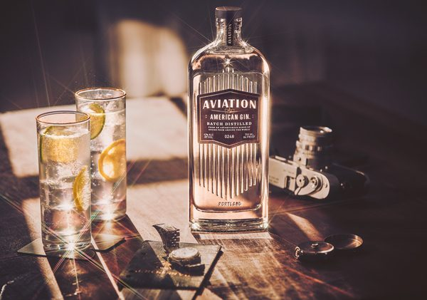 Aviation Gin sadly without Ryan
