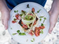 Pete Goffe-Wood has designed the new menu for On The Rocks