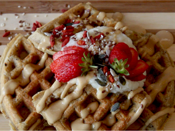 Watch: Mouthwatering guilt-free waffles at Jessy's Waffles in Gardens