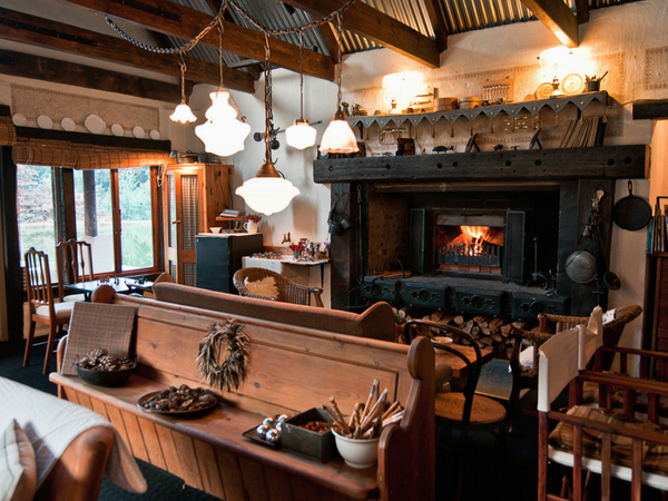 Restaurants with fireplaces in the Midlands and surrounds