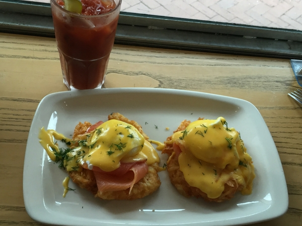 The absolute best latke Benedict