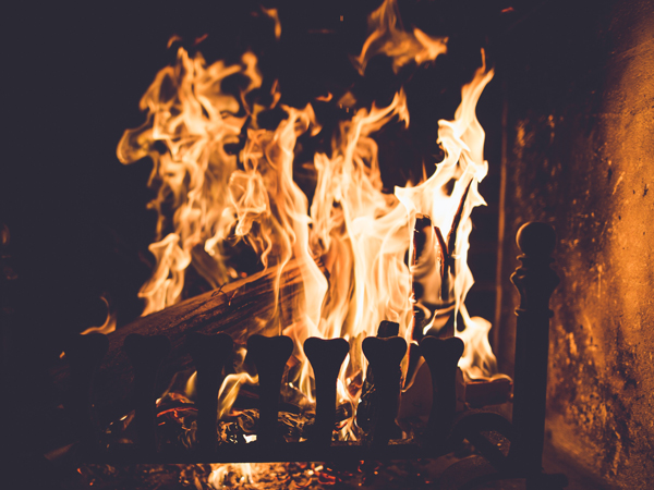 10 restaurants with fireplaces in Johannesburg