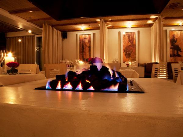 7 restaurants with fireplaces in Pretoria