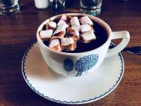 Chocolat et Cafe's hot chocolate