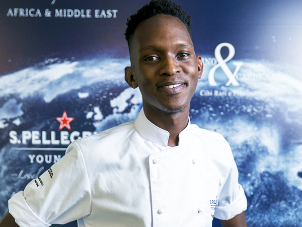 Vusumuzi will be cooking this weekend in Milan for the ultimate title