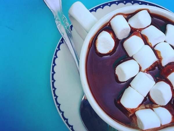 Chocolat et Cafe's hot chocolate