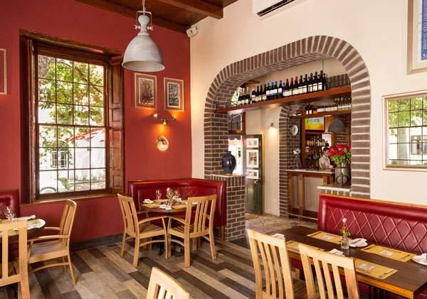 The dining area at Stellenbosch Kitchen