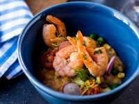 The prawn risotto at Stellenbosch Kitchen