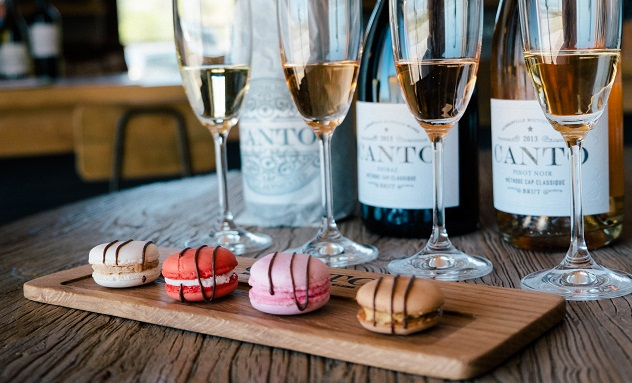 Macaron and MCC pairing at Canto