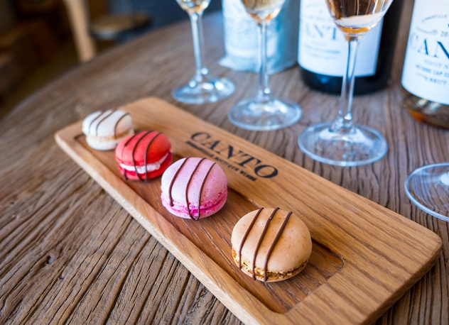 Macarons at Canto Wines