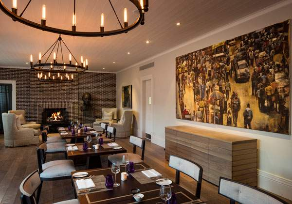 The refined elegance at The Dining Room