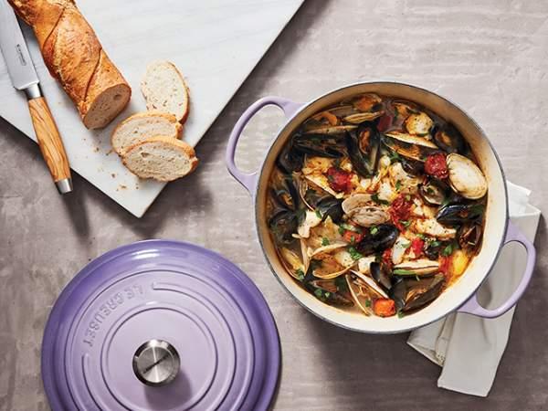 Le Creuset casserole Provence