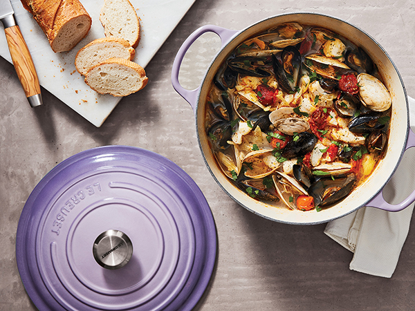 You could win a Le Creuset casserole by writing a review on our app