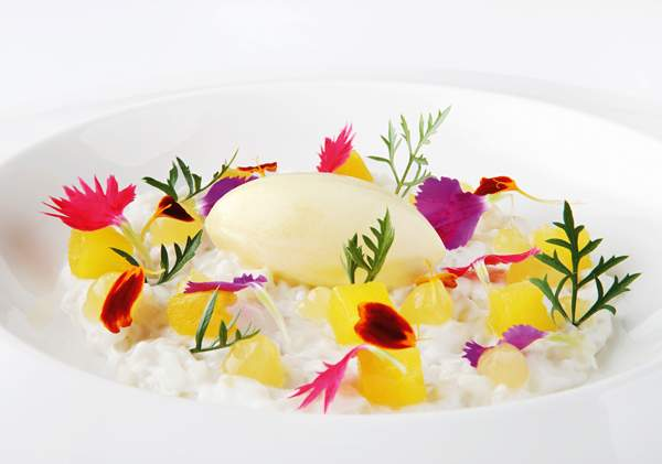 The Qunu coconut-and-pineapple dessert