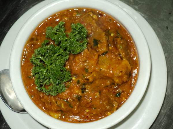 The mutton curry at Bismillah