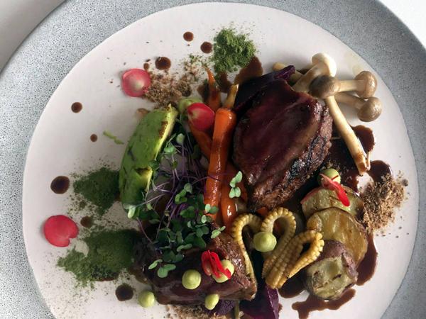 A dish at Est Est Alea