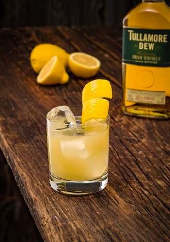 Irish Gold Rush cocktail