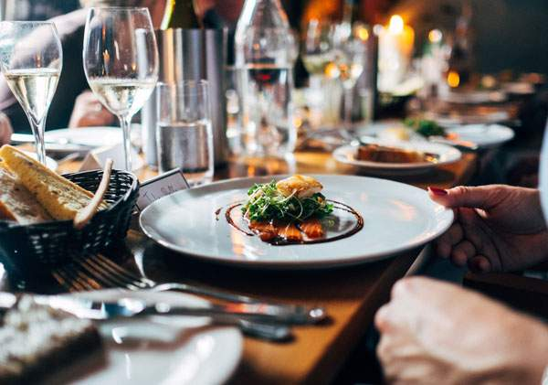 Imagine paying separately for each element of your restaurant experience