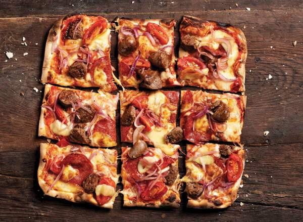 Jack Parow's 'Wors Tokolosh' pizza