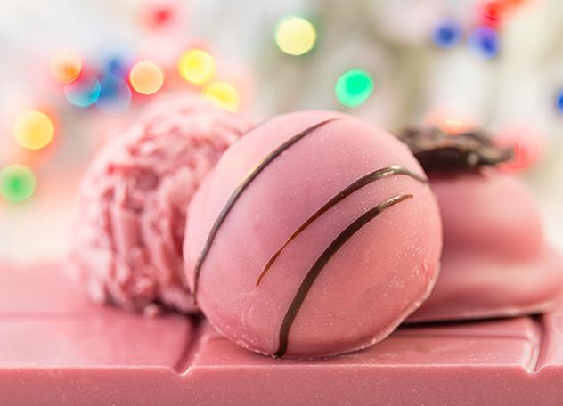 Chocoloza ruby pink chocolate