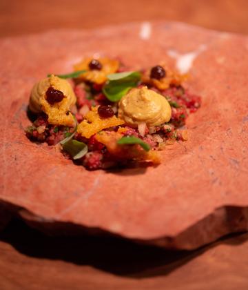 A dish at Eike