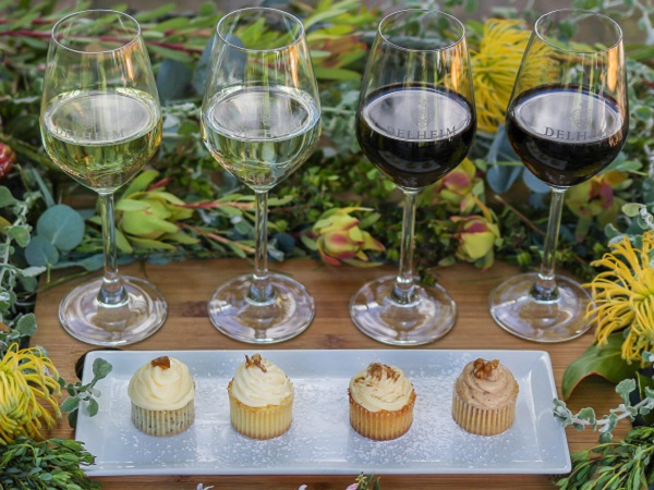 Fynbos-flavoured cupcake wine pairing now available at Stellenbosch winery