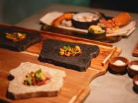 Dishes at Eike