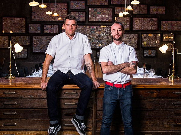 Chef Wesley Randles and business partner Simon Widdison