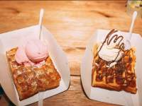 Waffles at Wafelbak
