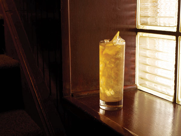 Backyard Tea Cocktail