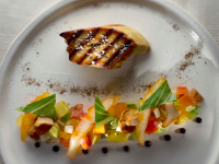 Foie gras dish at Etincelles