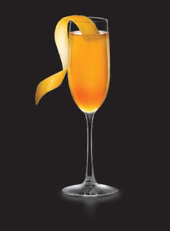 Hennessy French 75 cocktail