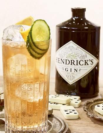 Hendrick's Gin Buck Cocktail