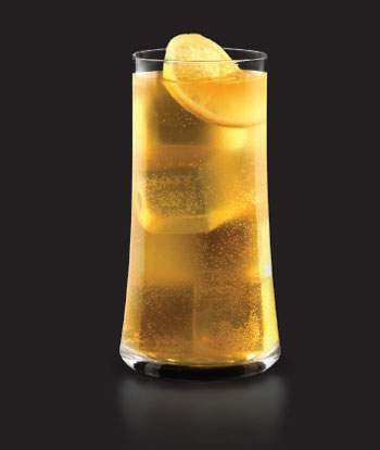 A Hennessy cocktail