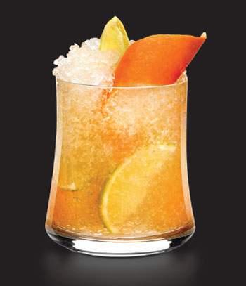 A Hennessy Caipirinha Cocktail