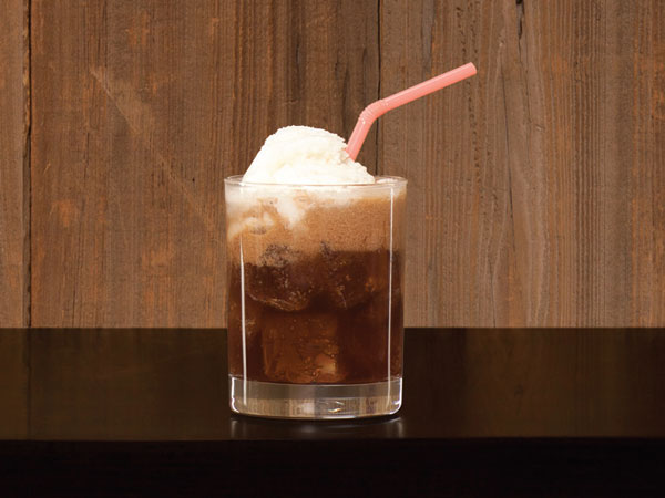 the jerry float cocktail