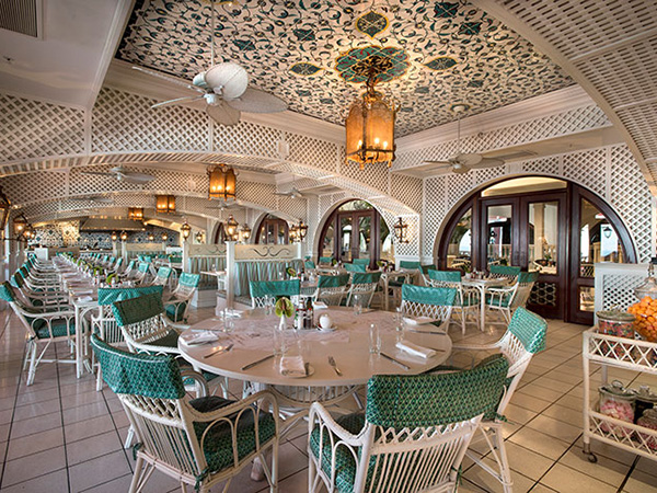 Interior at the ocean terrace. Photo supplied.