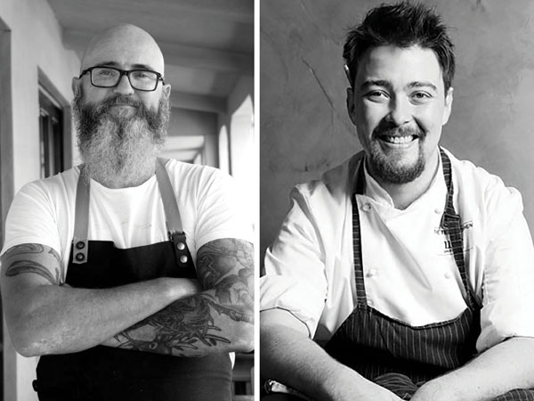 Dead heat: The winners of the 2018 Eat Out Graham Beck Chefs' Chef Award are…