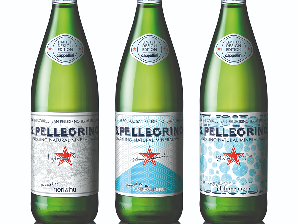 Partner content: S.Pellegrino unveils three limited edition bottles with bespoke labels