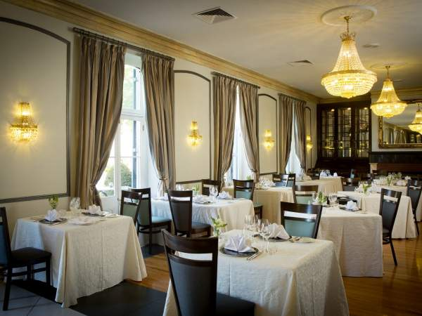 Bosman's Restaurant at the Grande Roche Hotel