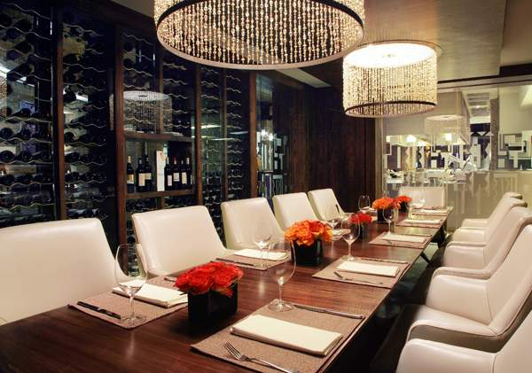 The private dining room at oneNINEone