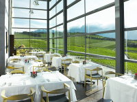 The interior at The Restaurant at Waterkloof
