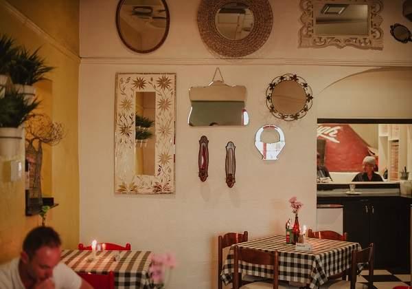The interior at Bella Casa
