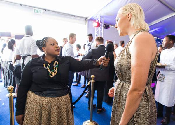 Go behind the scenes with Zola Nene