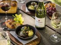 Food and wine from La Motte