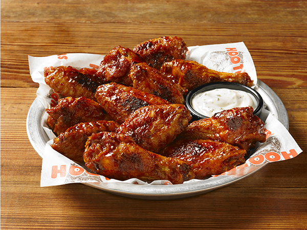 Enjoy delicious Daytona wings along with your happy hour specials at Hooters.