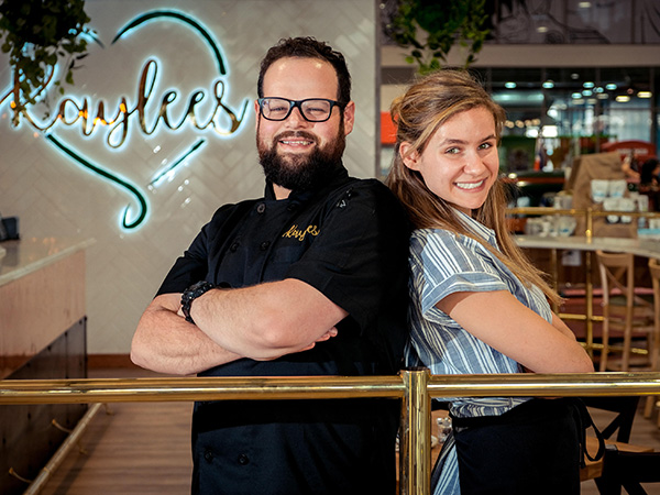 The team behind the vegan salmon and cream cheese bagel.