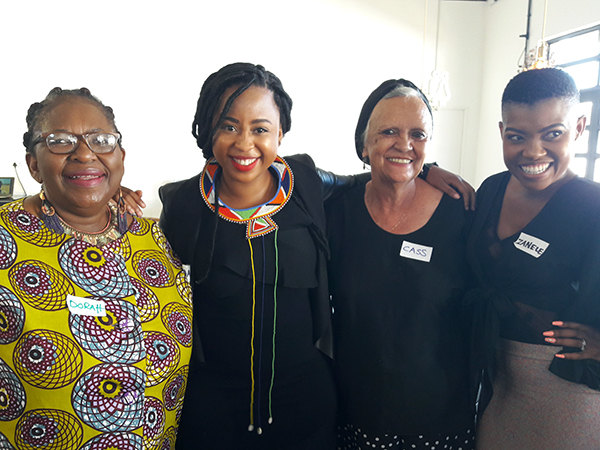 Legends - Dorah Sithole, Mogau Seshoene, Cass Abrahams and Zanele van Zyl
